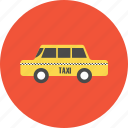 adventure, car, taxi, tourist, transportation, travel, vacation icon