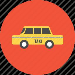 adventure, car, taxi, tourist, transportation, travel, vacation icon
