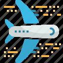 airplane, flight, fly, plane, transportation, travel icon