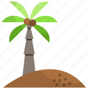 coconut, island, landscape, nature, travel icon