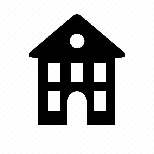 b&b, building, hostel, hotel, house icon