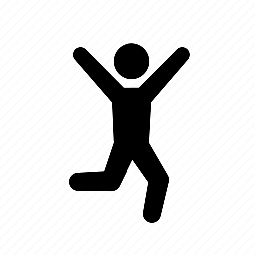 Human Stick Figure Images Human Jumping Male Man