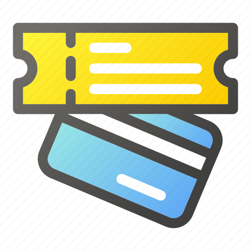 banking, card, credit, money, payment, type, walletticket icon