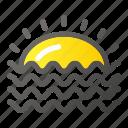 ocean, sea, summer, summertime, sun, swimming icon