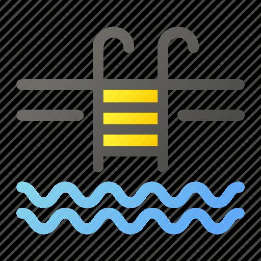 pool, swim, swimming, water icon