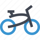 beach, bike, cruiser, outdoor, travel, traveling, vacation icon