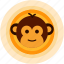 adorable, cute, monkey, smile, spots, vacation