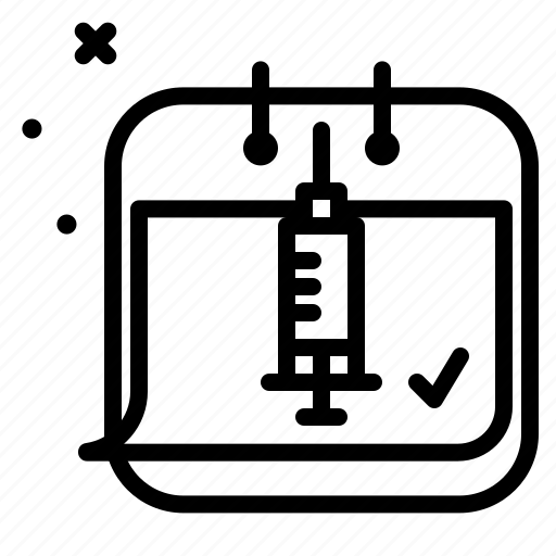 Calendar, medical, disease, health icon - Download on Iconfinder