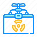 container, storing, biomaterials, production, microscope, thermoreactor icon
