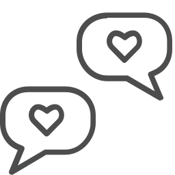 communication, connection, conversation, love, valenticons, valentine icon