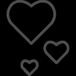hearts, love, romantic, valenticons, valentine, valentines icon