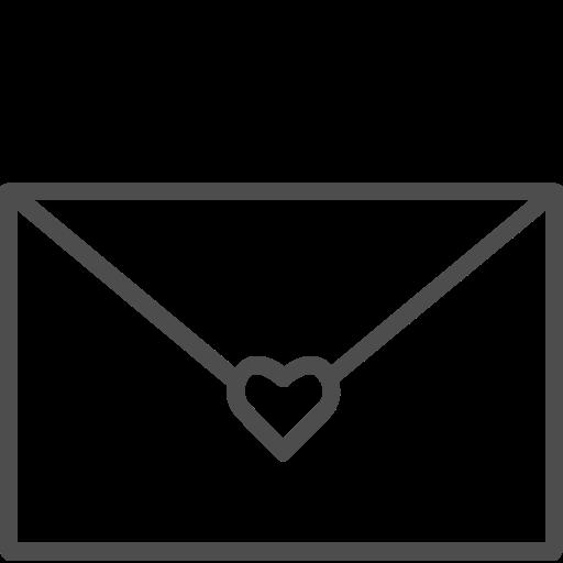 envelope, letter, valenticons, valentine, valentines icon