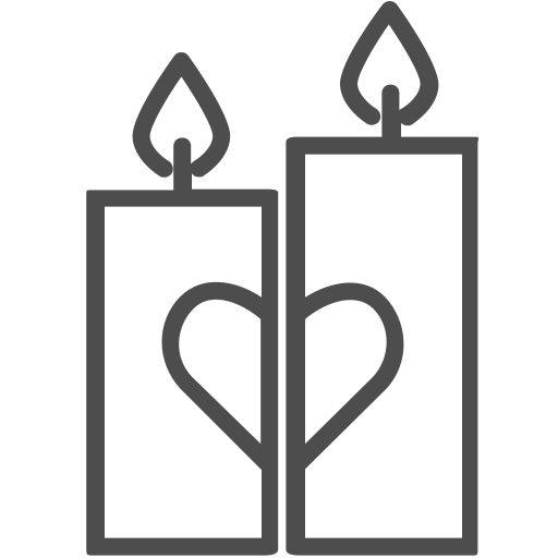candles, flame, love, romantic, valenticons, valentine, valentines icon
