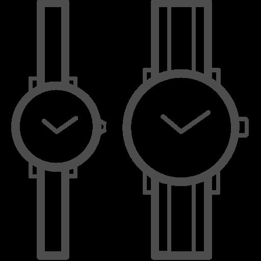 couple watch, date, valenticons, valentine, valentines icon