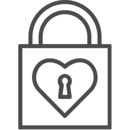 heart, key, lock, love, valenticons, valentine, valentines icon