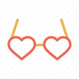 day, glases, goggle, heart, love, romantic, valentine icon