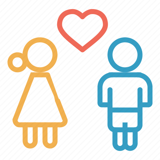 birds, couple, heart, love, romantic, valentine icon