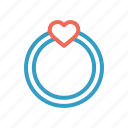 day, heart, love, ring, romantic, valentine, wedding icon