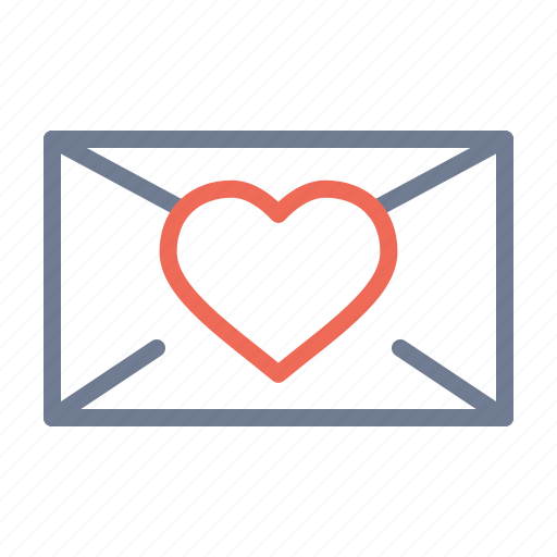 chat, email, love, message, romantic, valentine's day, vatentine icon