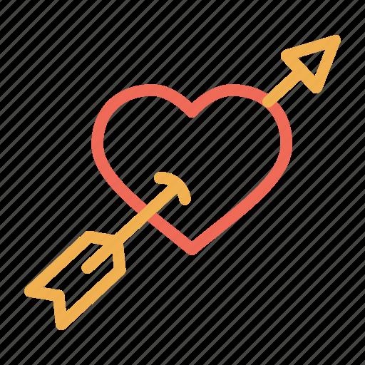 cupid, day, heart, love, romantic, valentine, valentines icon