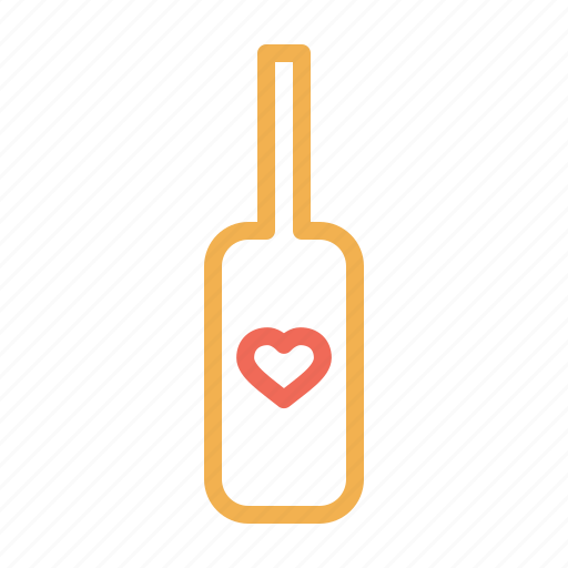 alchohol, date, love, romantic, shampagne, valentine, wine icon