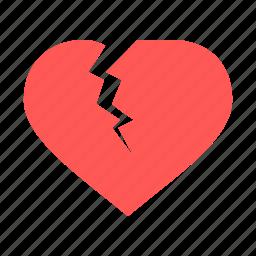 break, broken, day, love, up, valentine, valentines icon