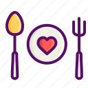 date, day, dinner, love, romantic, snacks, valentine