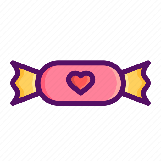 candy, chocolate, day, love, romantic, valentine, valentines icon