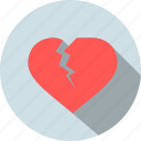 break, broken, day, love, up, valentine, valentines icon