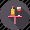 date, day, dinner, love, romantic, valentine, wine