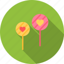 candy, day, heart, love, romantic, valentine, valentines icon