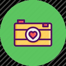 camera, day, image, love, photo, romantic, valentine icon