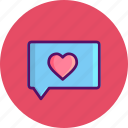 chat, day, love, message, romantic, valentine
