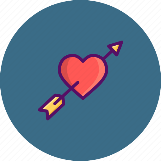cupid, day, heart, love, romantic, valentine, valentines icon