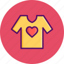 day, heart, love, romantic, tshirt, valentine, valentines
