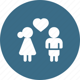 couple, day, heart, love, romantic, valentine icon