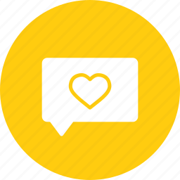 chat, day, love, message, romantic, valentine icon