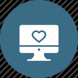 computer, day, desktop, love, mac, romantic, valentine icon