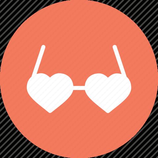 day, glases, goggle, heart, love, romantic, valentine icon