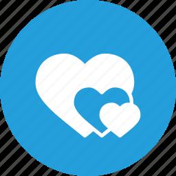 day, heart, hearts, love, romantic, valentine, valentines icon