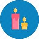 candle, day, dinner, love, romantic, valentine, valentines icon