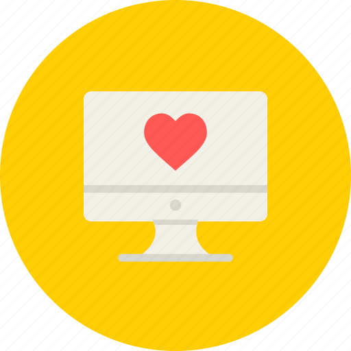 computer, day, desktop, love, mac, romantic, valentine icon