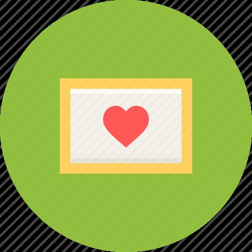 day, frame, love, memory, photo, romantic, valentine icon