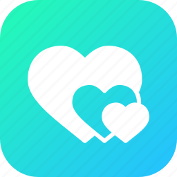 day, heart, hearts, love, romantic, valentine, valentines icon