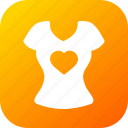 day, heart, love, romantic, top, valentine, valentines icon