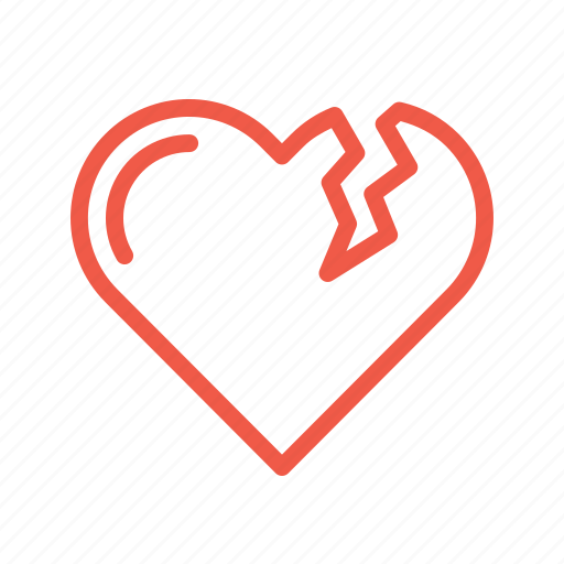 bakeup, break, heart, love, moveon, relation, valentine icon