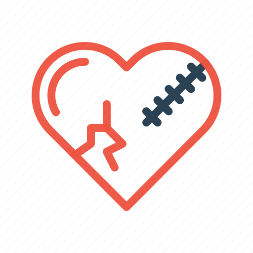 Bakeup, break, heart, love, relation, sorry, valentine icon - Download on Iconfinder