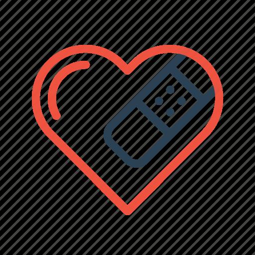 break, heart, love, moveon, relation, sorry, valentine icon