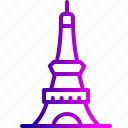 eiffel, lover's point, paris, place, propose, tower, valentine icon