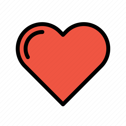 attract, feeling, heart, like, love, valentine icon
